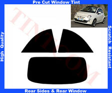 Pellicola Oscurante Vetri Auto Pre-Tagliata Fiat 500C Cabrio 2009-2012 da5% a50%