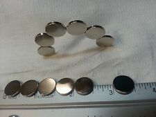 "Neodymium Disc magnet 35N 1/2""dia X.060""thick diametically magnetized 12each lot"