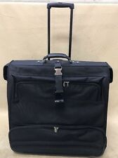 "Dakota by Tumi Black Large 24"" Long Wheeled Rolling Garment Bag Wardrobe"