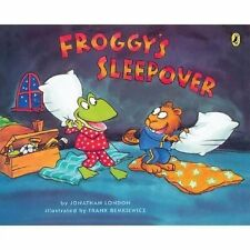 Froggy Ser.: Froggy's Sleepover by Jonathan London (2007, Paperback)