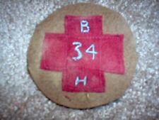 WWI US Army 34th Base Hospital,AEF