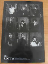 EXO - LOTTO : Ex'act Repackage (Ver. A) [OFFICIAL] POSTER K-POP *NEW*