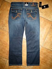New Men's Rock & Republic Boot Cut Blue Jeans Pants 34x30