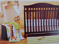 4 pc Circo Jungle Stack Baby Nursery Crib Bedding Set Collection NIP