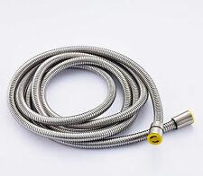 Extra Long Stainless Steel Handheld Shower Hose (8 Ft) (96 Inches) (2.45 Meters)
