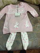 newborn easter dress and tights