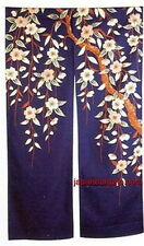 Japanese NOREN Doorway Curtain Sakura 35x59 #ps120 S-2720