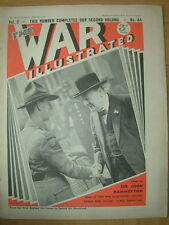WAR ILLUSTRATED MAG No 44 JULY 5th 1940 CAMBRIDGE TOWN SHATTERED BY GERMAN BOMBS