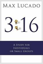 NEW! 3:16: A Study for Small Groups by Max Lucado Paperback Book (English)