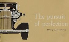 LINCOLN Factory History Brochure:1917-1959,CONTINENTAL,PREMIERE,Mark 2,4,KB,1940