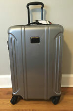 Tumi Vapor Lite Suitcase/Luggage 028664SLV Silver Grey 4-wheel