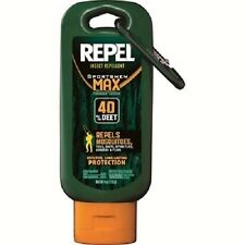 Repel 40% DEET Bug Insect Mosquito Repellent Sportsmen Max 4oz Lotion Camp 94079