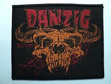 DANZIG  WOVEN  PATCH