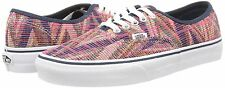 ORIGINAL VANS AUTHENTIC LOW TOP TRAINER. PINK MULTI , SIZE 4.5 UK, 37 EU, NEW