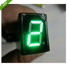 New Universal Motorcycle Digital Gear Indicator for Motorbikes Green LED
