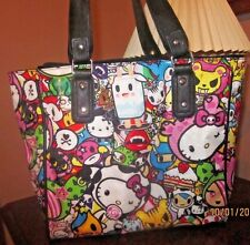Loungefly by Sanrio Claire's Hello Kitty 40th Anniversary Tote Bag Keroppi Maru
