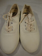 NEW Vintage Pier Ten 10 Genuine Leather White Womens Shoes Sneakers 7WArch Supp