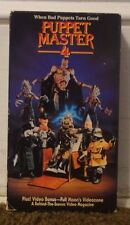 Puppet Master 4 Rare & OOP Horror Movie Paramount Home Video Release VHS