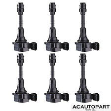 New Set of 6 Ignition Coil pack for 2003-06 FX35 350Z Frontier Xterra Armada