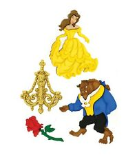 Dress It Up Licensed Embellishments- Disney Beauty and The Beast -NEW!!
