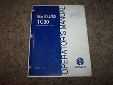 New holland tc30 service Manual