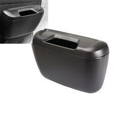 Mini Auto Car Vehicle Garbage Dust Case Holder Box Bin Trash Rubbish Can Black