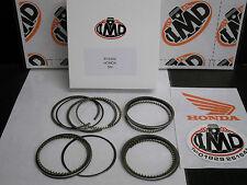 Honda Cb500 cb500f Aro del pistón conjuntos (4) Nuevas Std 56 Mm Nueva r15250-00