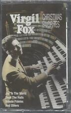VIRGIL FOX Christmas Favorites Royal Festival Hall Organ London NEW CASSETTE