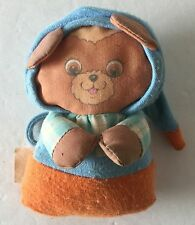 Vintage Playskool Jammie Pies Plush Toy Baby Doll Blue Spunkle Cub Teenie Bear