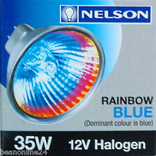 4 Pack x Rainbow Coloured Halogen Light Globe 12V 35W MR16 - Red, Green or Blue