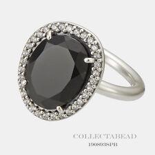 Authentic Pandora Glamorous Legacy Black Spinel CZ Ring Size (8) 58 190893SPB