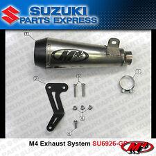 2008 - 2010 SUZUKI GSXR GSX-R 600 750 M4 TITANIUM GP SLIP ON EXHAUST SU6922-GP