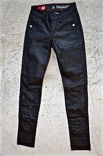 jeans résiné slim noir M&F GIRBAUD tiagageddon taille 34 (W 24) NEUF ÉTIQUETTE