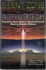 INDEPENDENCE DAY ID4 Silent Zone by Stephen Molstad (1997) Harper Collins HC 1st