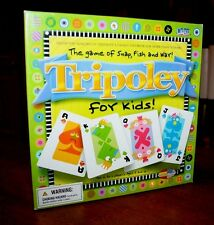 Tripoley for Kids! - The Game Combining Snap, Fish and War! by Cadaco
