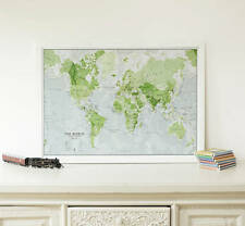 Kids Glow In The Dark World Map