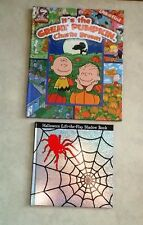 IT'S THE GREAT PUMPKIN CHARLIE BROWN LOOK & FIND & HALLOWEEN LIFT-THE-FLAP - NEW