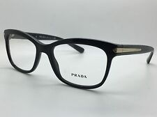 Prada VPR10R 1AB Black Designer Glasses Frames mens New 53-17-140