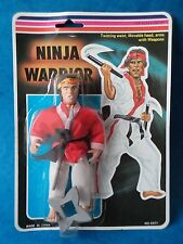 Vintage Toy Figure - NINJA WARRIOR - MOC - Carded Bootleg Action Figure
