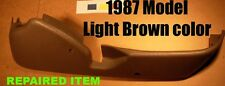 SEAT TRIM TAURUS SABLE 1987 MANUAL PASSENGER SIDE RH Light BROWN color