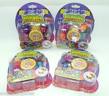 * Moshi Monsters Series 3 - 5 Figure Blister Packs x 4 Packs Sent at Random *