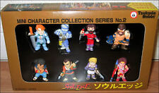 Soul Edge Calibur Mini Character Collection Set of 8 Figure Tsukuda Hobby Japan