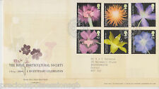 TALLENTS GB ROYAL MAIL FDC FIRST DAY COVER 2004 HORTICULTURAL SOCIETY STAMP SET