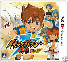 Used Nintendo 3DS Inazuma Eleven Go Shine Japan import