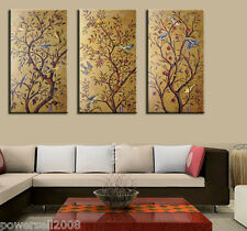 1.2M Chinese Fashion Abstract Art Handmade Frameless Canvas Mural Painting Set