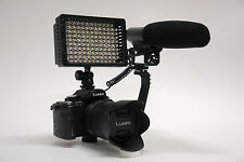 Pro VM XL-2L SLR video mic light for Panasonic Lumix DMZ G7 GH4 GH3 FZ1000 DSLR