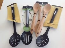 Calphalon Set: Bulk Slotted & Wooden Spoons (new), pick up Coogee or will post