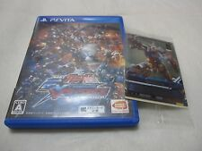 USED PS Vita. Mobile Suit Gundam EXTREME VS FORCE. Japanese Version. With Card.