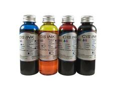 Edible Ink Refill Kit for Canon Printers 4x100ml Ink Bottles set
