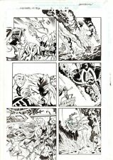 Avengers United They Stand #2 p.20 Scarlet Witch & Wonder Man '99 Jason Armstron